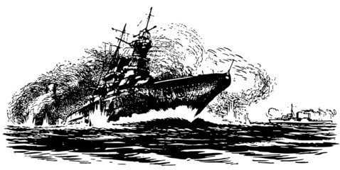 Ship's drowning