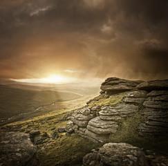 Dramatic Wild Landscape