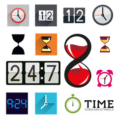 Collection Of Time Icons