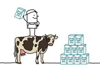 cow & milk