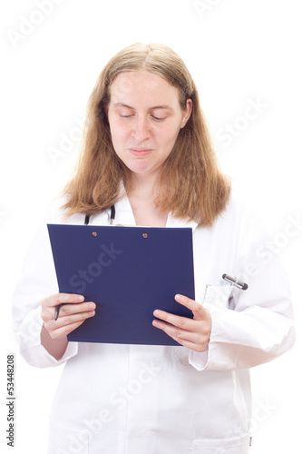 Looking in the checklist who the next patient will be