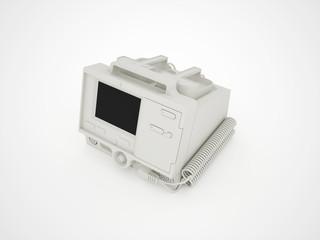 Defibrillator medical isolated