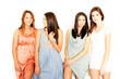 Gruppe junger Frauen