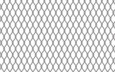 Metal fencing mesh