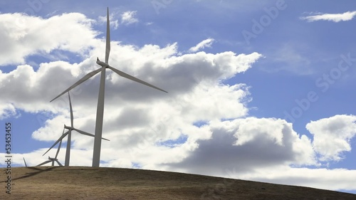 Wind Turbines in Goldendale Washington 1920x1080