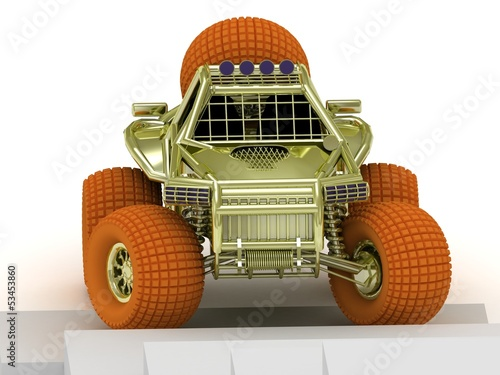 model buggy isolated
