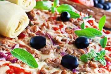 Pizza - Thunfisch