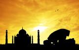 Muslim man prayer