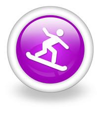 "Violet Icon ""Snowboarding"""