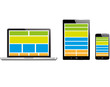 Responsive Webdesign Electronic Devices