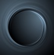 Dark vector round shape