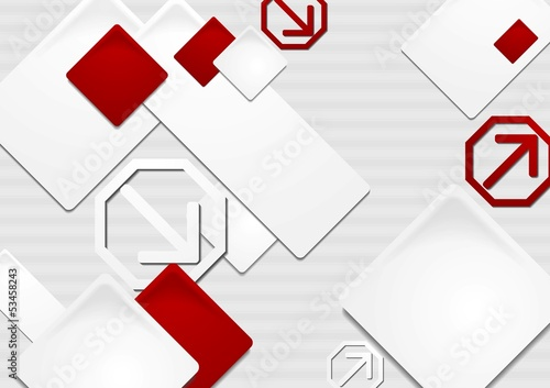 Elegant vector tech background