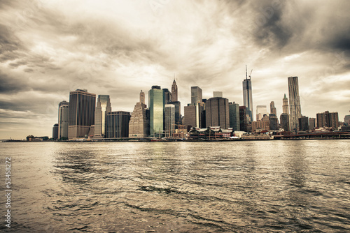 lower-manhattan-skyline-widziane-z-brooklyn-bridge-park