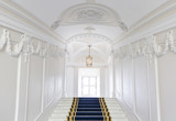 Fototapety Stairwell in the Polish palace. Royal castle in Warsaw