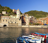 Vernazza afternoon.CInque Terre national park.Italy.