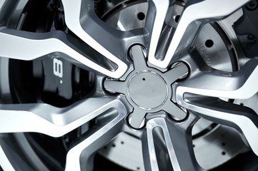 Alloy Wheel Closeup