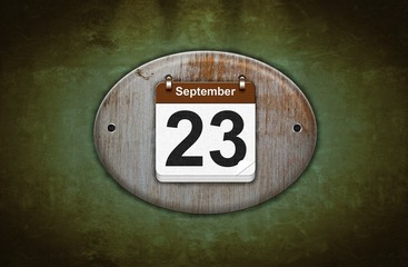 23 de Septiembre.