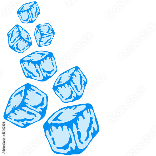 Ice Cubes Design