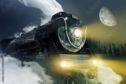 Hudson Steam Locomotive