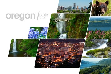 Oregon Postcard Design