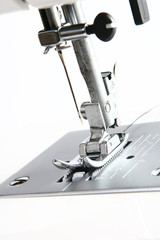 Foot and Needle of Sewing Machine
