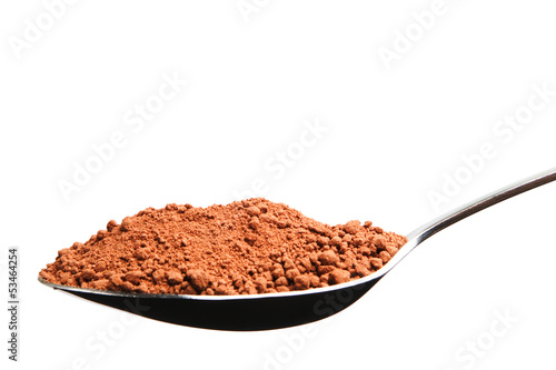 Spoonful of Cocoa Powder