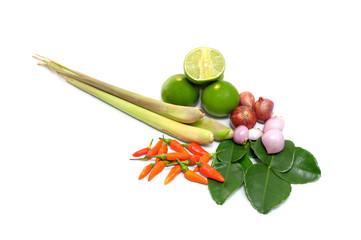 TomYum ingredients