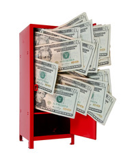 Money in Locker