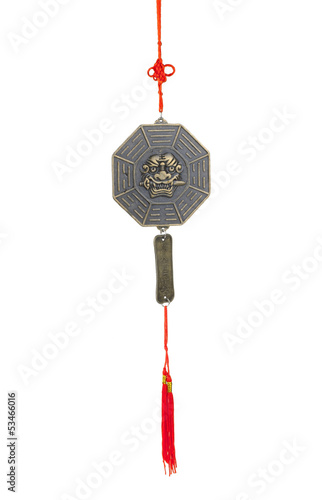 The tiger's sword lessons wind chime, the chinese feng shui