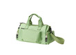 A nice green fabric lady handbag for shopping, working or travel