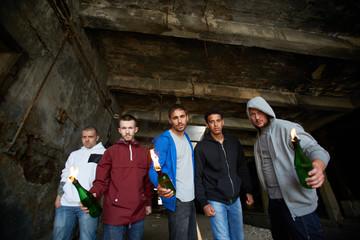 Violent lads