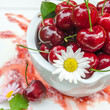 Geschmack des Sommers: Frische Kirschen