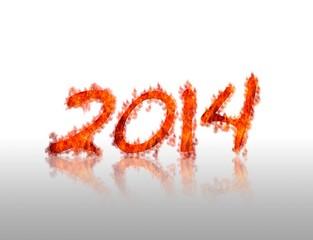 2014 en llamas.