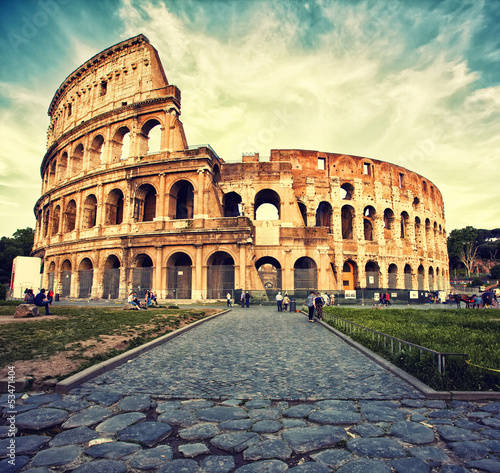 Poster Rome Colosseum