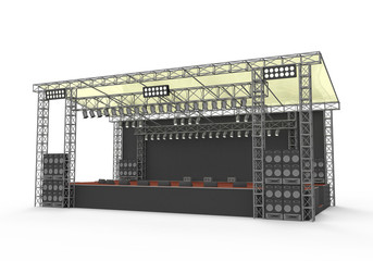 Outdoor Concert Stage © nerthuz