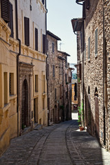 view of spello town