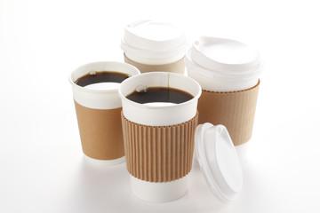 テイクアウト用コーヒー