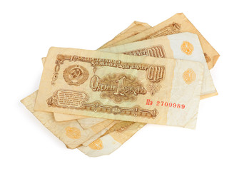 old USSR money