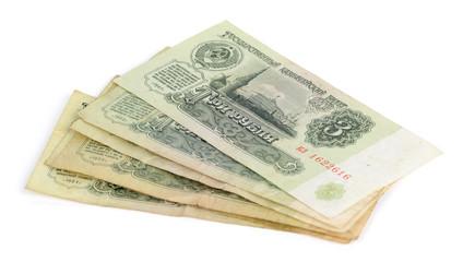 old Soviet money