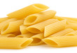 heap of italian tubular pasta