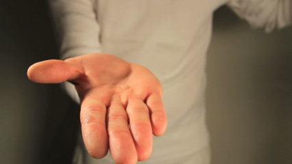 Hands sanitizing. Find similar clips in our portfolio.