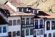 View of  city  Ouro Preto in Minas Gerais Brazil