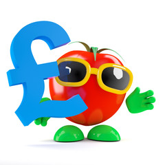 Tomato holds Sterling