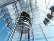 Leinwanddruck Bild - The elevator