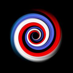 Logo vecteur vortex français