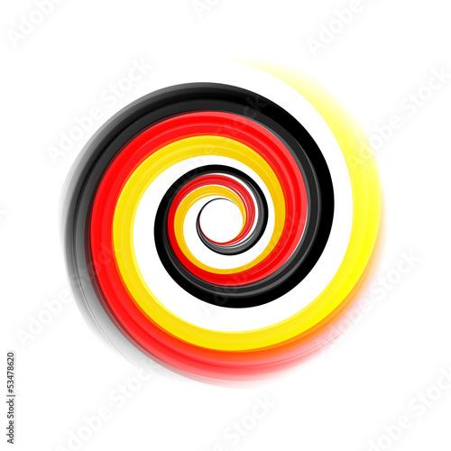 Logo Vektor Wirbel Deutsch