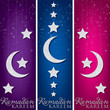 "Hanging decoration ""Ramadan Kareem"" (Generous Ramadan) banners i"