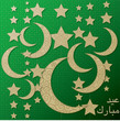 "Hanging decoration ""Eid Mubarak"" (Blessed Eid) card in vector"