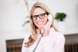pretty customer consultant