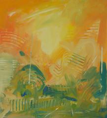 soyut yağlı boya tablo